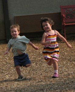kids running on playground - hoyasmeg on flickr