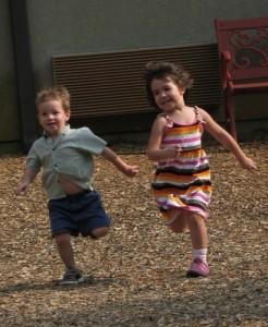 kids running on playground - hoyasmeg on flickr
